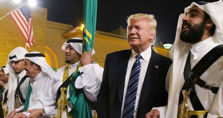 President Donald Trump enjoyed his visit to Saudi Arabia last spring.