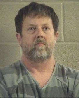 Jesse Randal Davidson, 53, is facing a number of charges after accused of firing a gun inside of a high school classroom