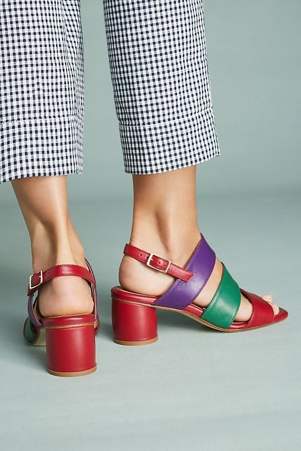 "Get them <a href=""https://www.anthropologie.com/shop/miista-ivon-colorblocked-heeled-sandals?category=SEARCHRESULTS&color"