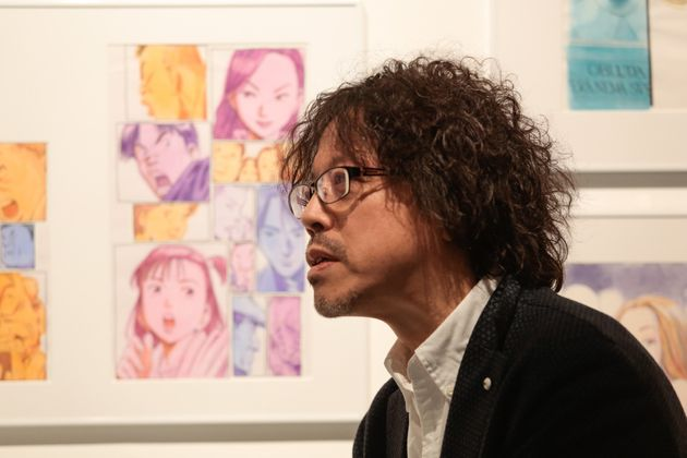 파리에서 만화가 우라사와 나오키를 만났다(사진,