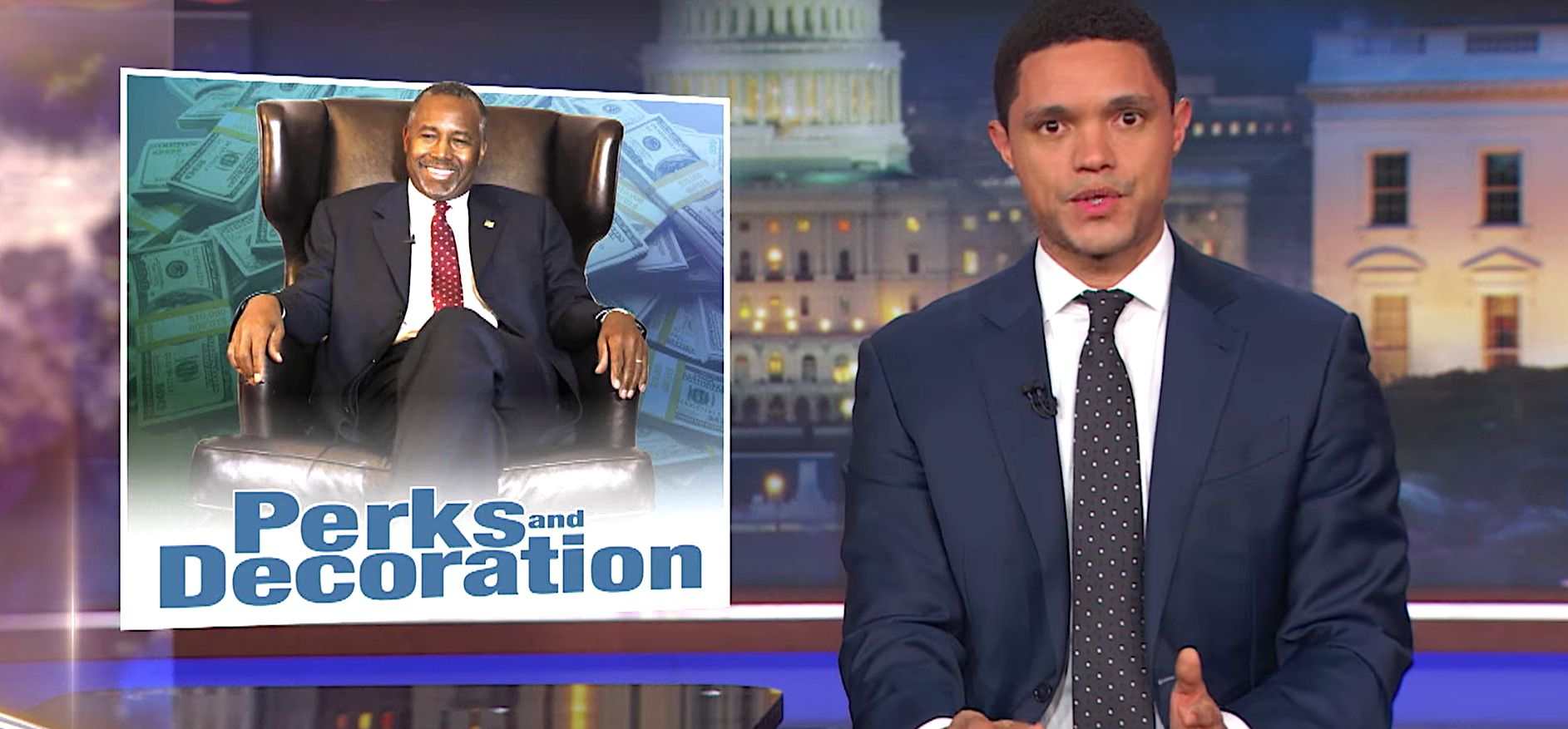 Trevor Noah Sniffs Out Another Appalling Thing Ben Carson Has Done