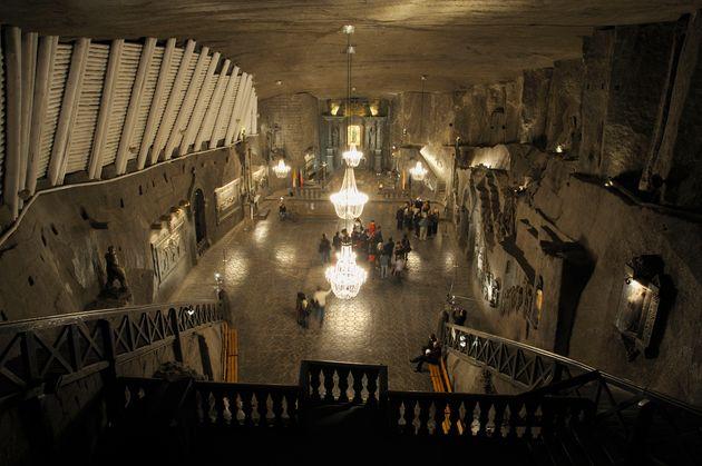 Το αλατωρυχείο Wieliczka στην...