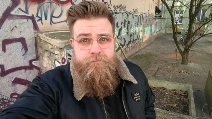Ryan Barrell in Berlin.