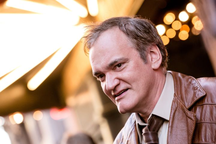 Director Quentin Tarantino arrives for Sundance NEXT FEST Opening Night in Los Angeles on Aug. 10, 2017. A 2003 radio intervi