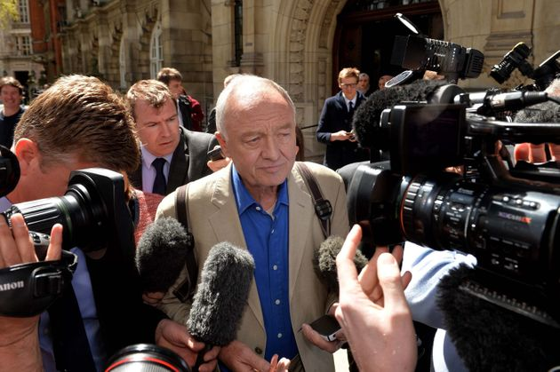 Ken Livingstone faces a media