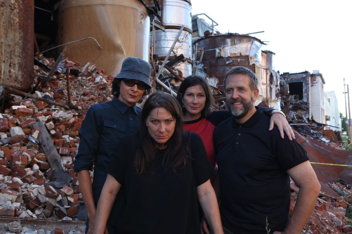 The Breeders still know how to take a cool publicity photo.