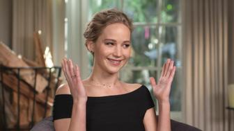 LOS ANGELES - FEBRUARY 25: Hollywood actress Jennifer Lawrence (pictured) is interviewed by CBS News correspondent Bill Whitaker on 60 MINUTES. The segment originally broadcast Sunday, February 25, 2018. Image is a frame grab. Hollywood, CA. (Photo by CBS via Getty Images)