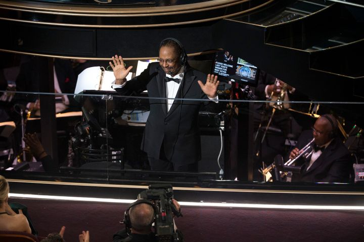 This year marks the third time that Wheeler, seen here at the 88th Academy Awards, will be musical director of the Oscars.
