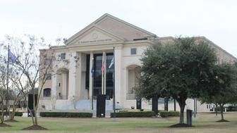 The St Tammany Parish courthouse