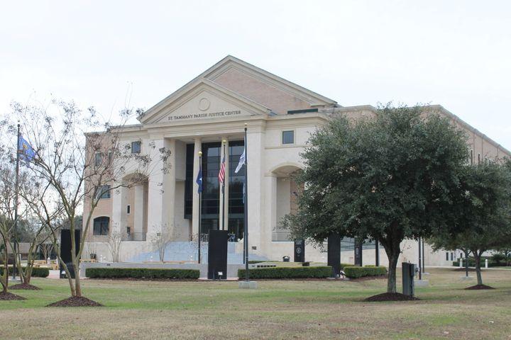 St. Tammany Parish courthouse.