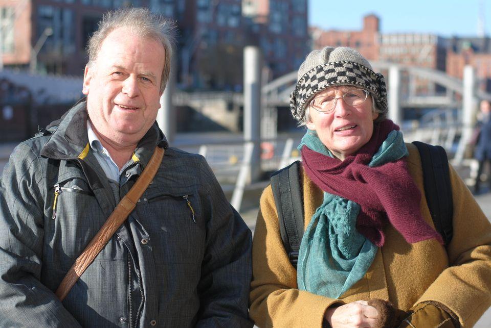Stadtplaner Siegfried Krauß und Klima-Expertin Helga