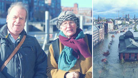 Der Klimawandel bedroht Hamburg – doch Stadtplaner kämpfen dagegen