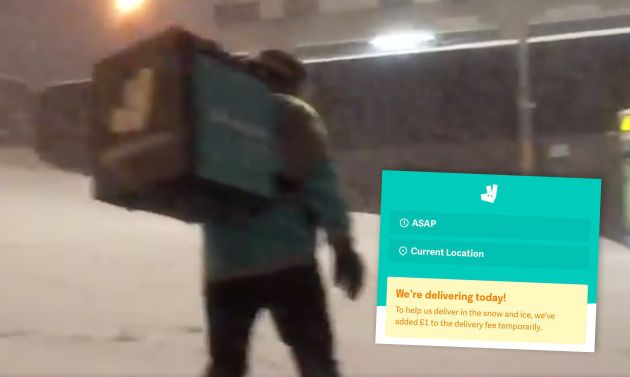 Deliveroo has been accused of persuading riders to forego safety to conduct dangerous