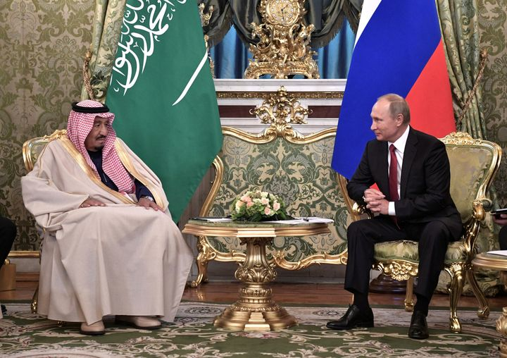 Saudi Arabia is one of multiple important U.S. partner countries currently considering buying more Russian military equipment