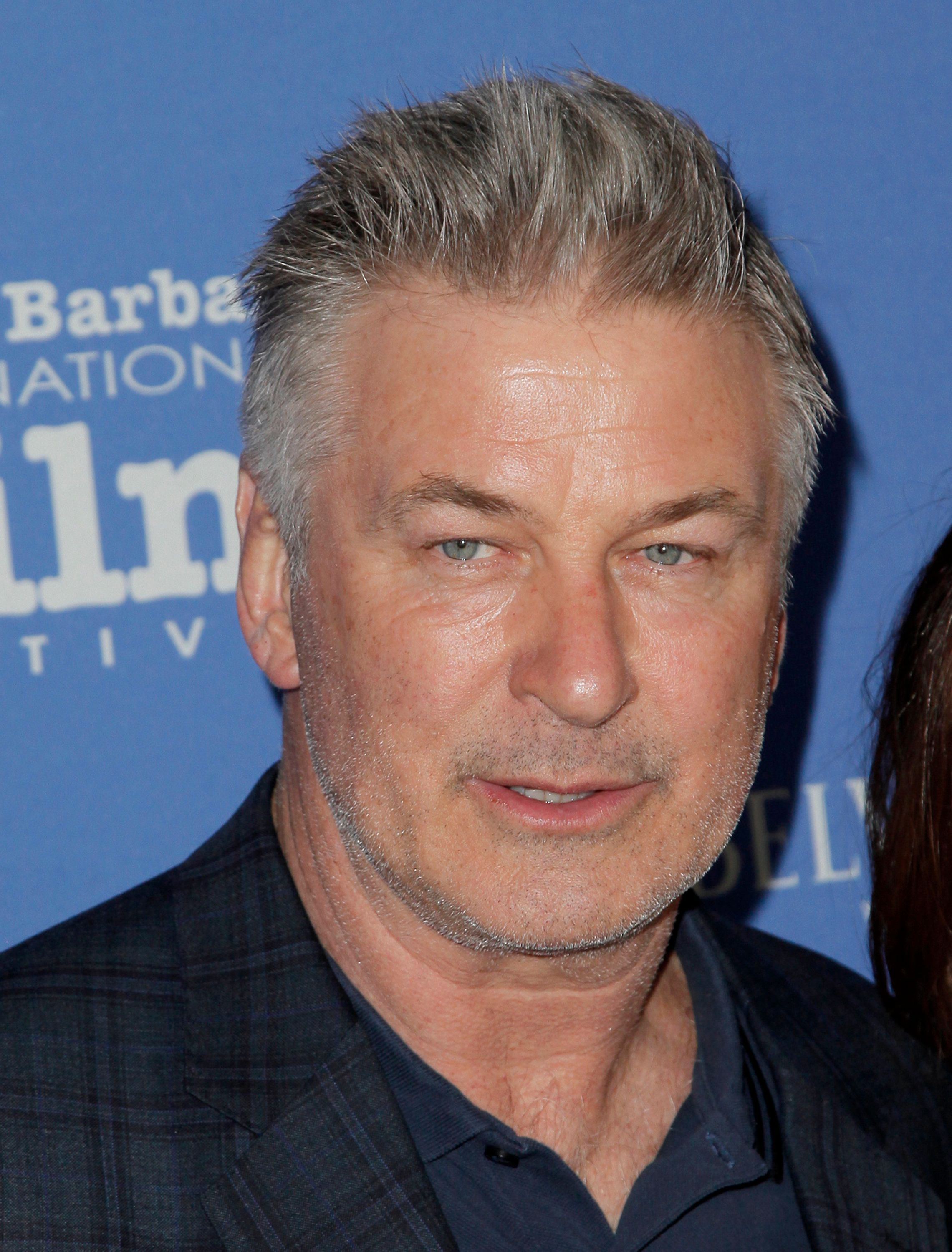 SANTA BARBARA, CA - JANUARY 31:  Alec Baldwin attends the 33rd annual Santa Barbara International Film Festival opening night premiere of 'The Public' at Arlington Theatre on January 31, 2018 in Santa Barbara, California.  (Photo by Tibrina Hobson/Getty Images)
