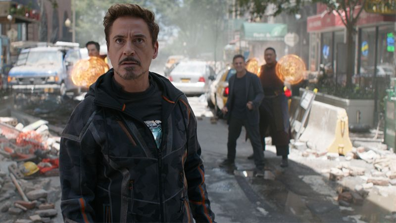 "Robert Downey Jr. in ""Avengers: Infinity War."""
