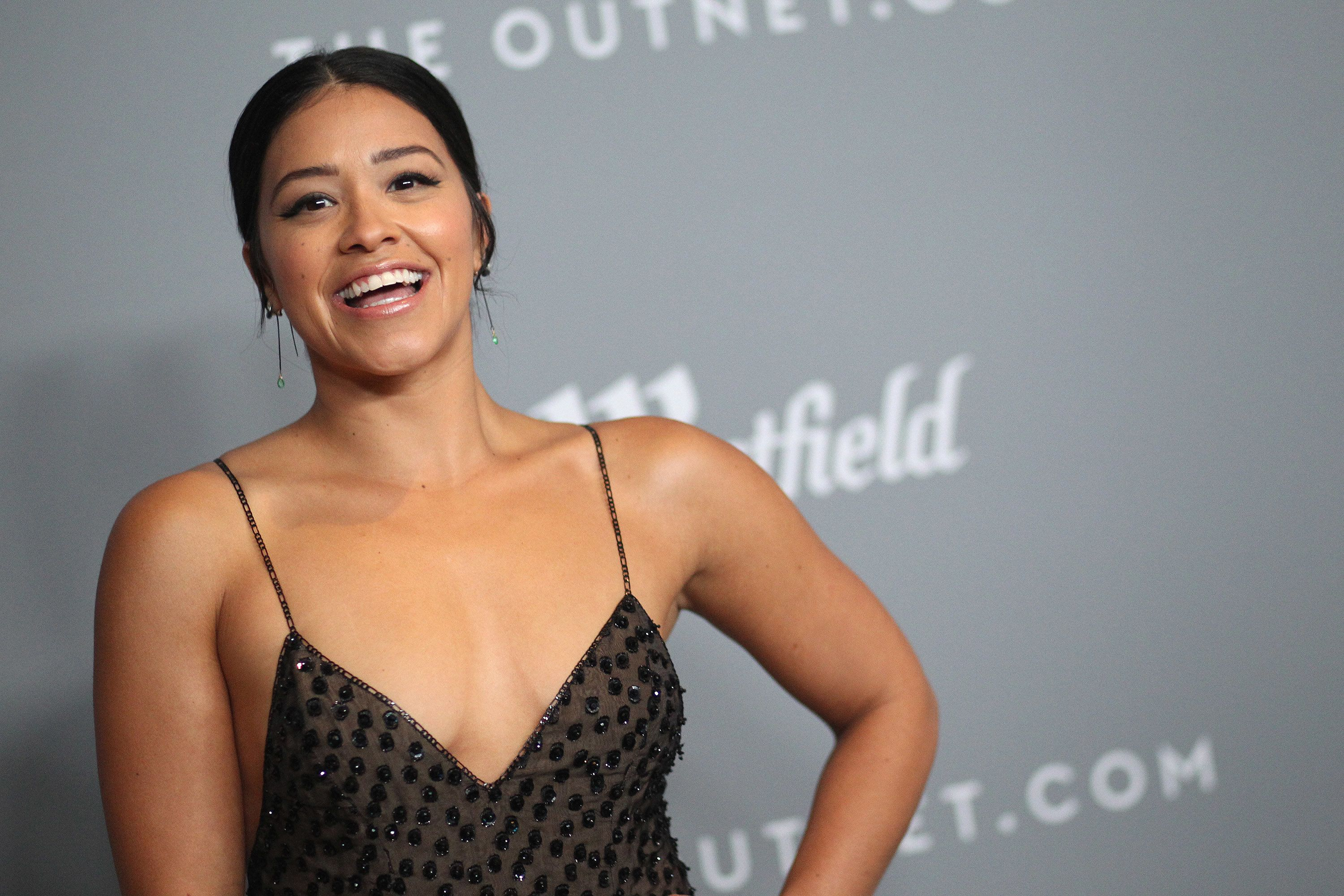 "Gina Rodriguez, who currently stars in the movie ""Annihilation."""