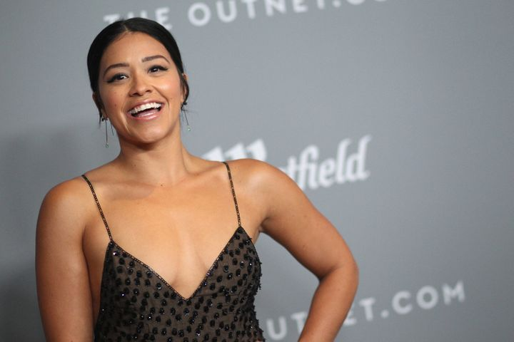 """Gina Rodriguez, who currently stars in the movie """"Annihilation."""""""