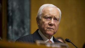 Senator Orrin Hatch, a Republican from Utah and chairman of the Senate Finance Committee, speaks during a confirmation hearing for Alex Azar, secretary of Health and Human Services (HHS) nominee for U.S. President Donald Trump, not pictured, in Washington, D.C., U.S., on Tuesday, Jan. 9, 2018. Until about a year ago, Azar was an executive at drugmaker Eli Lilly, a role thats fueled lawmakers' concerns that he might not be willing to take a tough stance against the pharmaceutical industry on drug prices. Photographer: Zach Gibson/Bloomberg via Getty Images