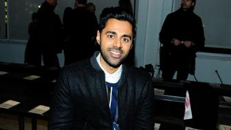 NEW YORK, NY - FEBRUARY 5: Hasan Minhaj attends the Todd Snyder February 2018 fashion show during New York Fashion Week: Mens'  at Pier 59 Studios on February 5, 2018 in New York City.  (Photo by Paul Bruinooge/Patrick McMullan via Getty Images)