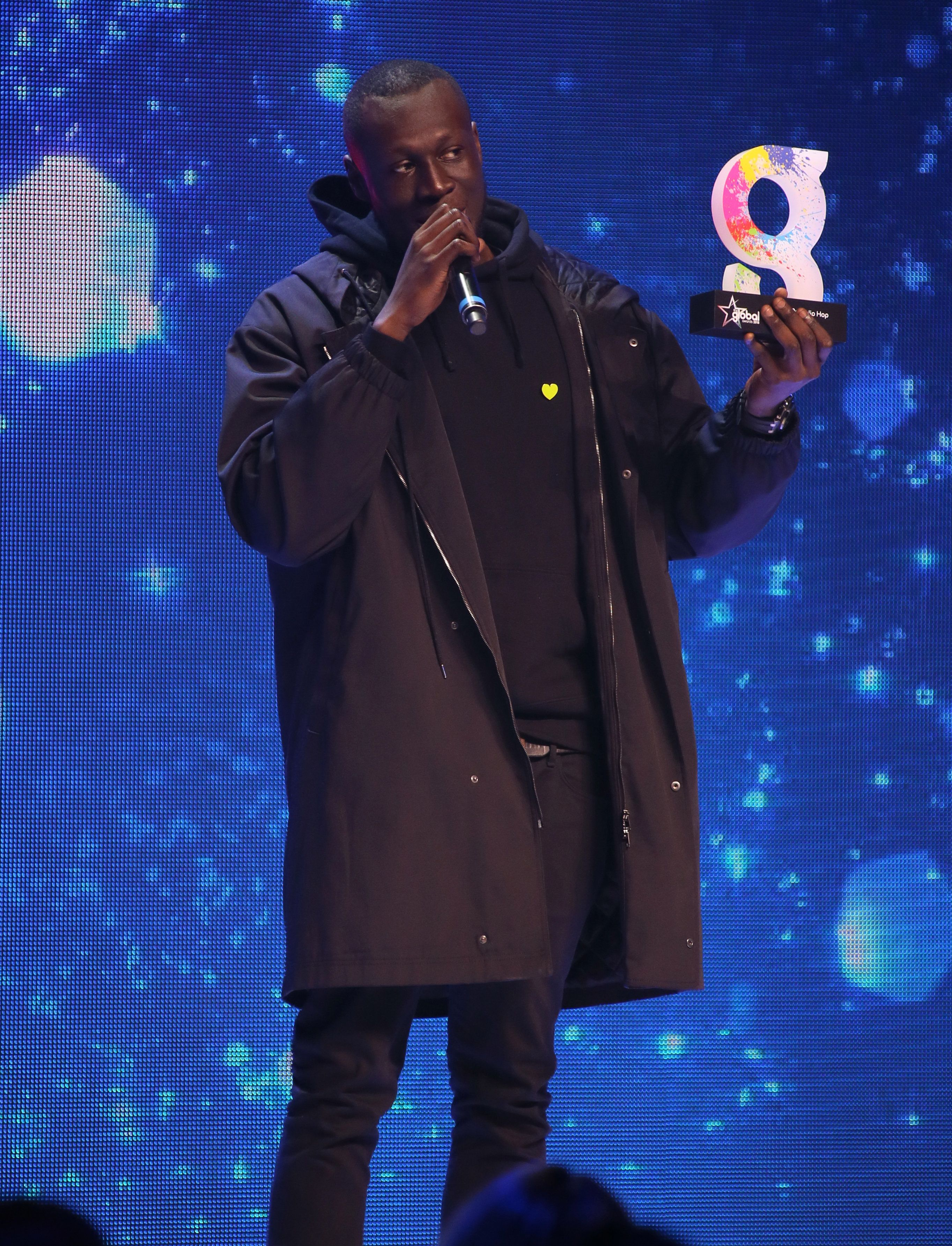 Stormzy Thanks The Wrong Radio Station After Triumphing At The Global Awards