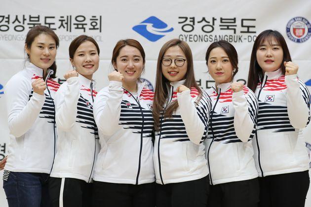 여자 컬링 대표팀은 '프로야구 시구 제안'이 꿈만