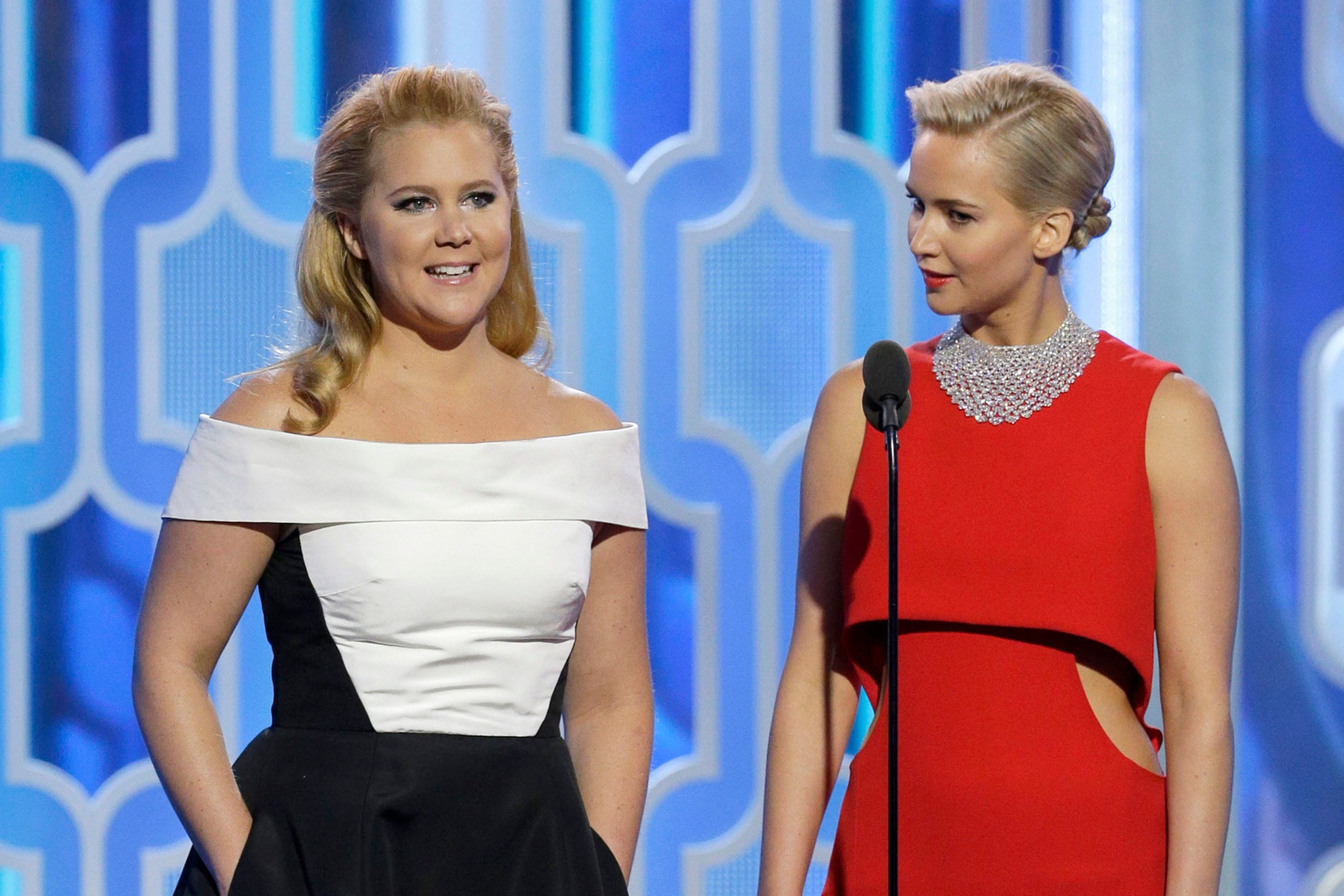 Amy Schumer gave a brutally amusing note to Jennifer Lawrence after breakup