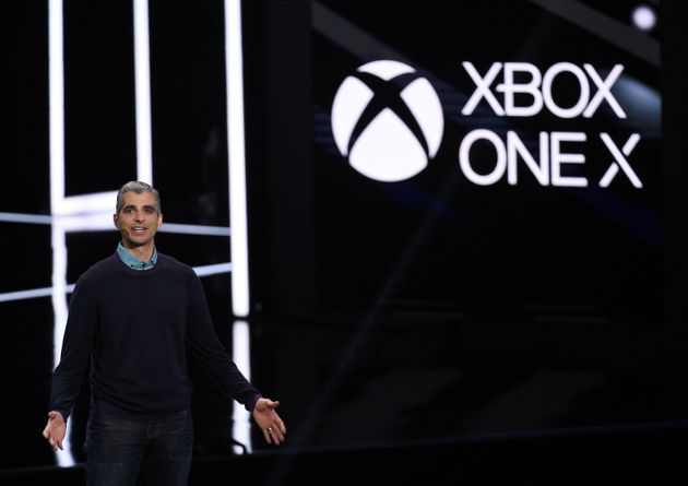 Xbox unveiled the world's most powerful console the Xbox One X in