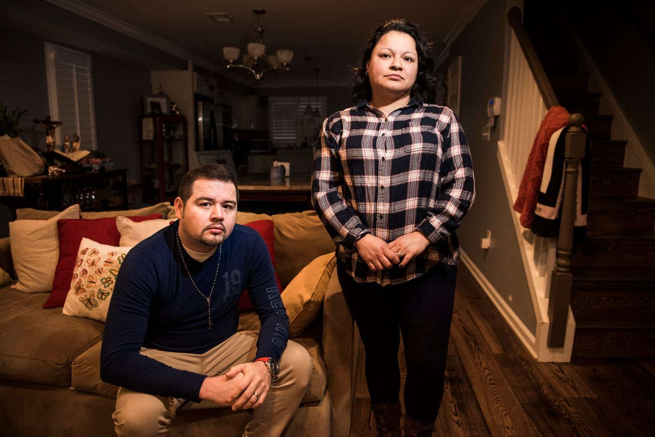 Alex and Lisben Aguirre, foster parents and Dreamers.