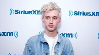 NEW YORK, NY - FEBRUARY 12:  Troye Sivan visits SiriusXM Studios on February 12, 2018 in New York City.  (Photo by Santiago Felipe/Getty Images)