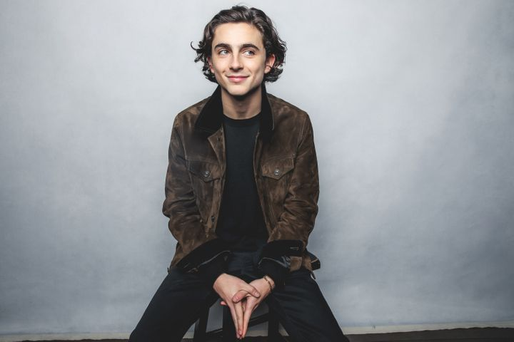 In real life, Chalamet continues to defy traditional stereotypes of masculinity.