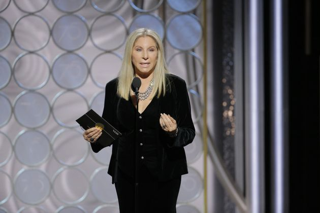 Barbra returned to the Globes this