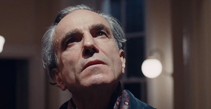 "Daniel Day-Lewis in the Oscar-nominated 2017 film ""Phantom Thread."""