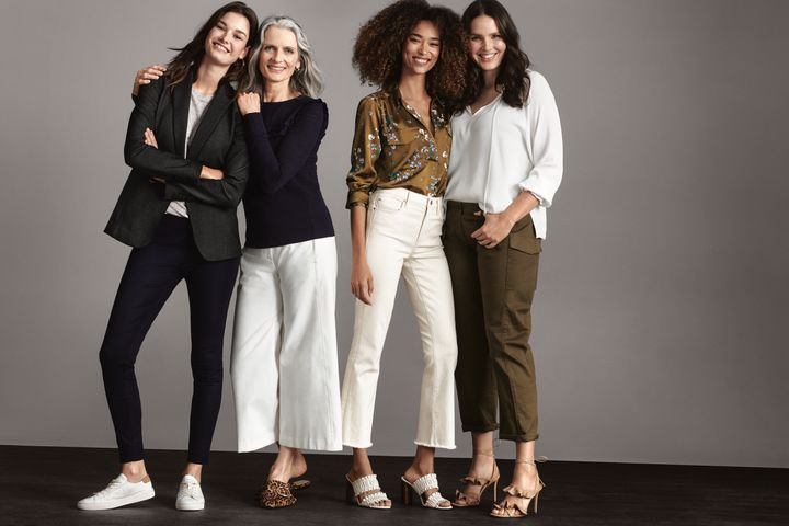 "Ann Taylor's ""Pants Are Power"" 2018 campaign ""commemorates the evolution of pants not only in fashion, but as a symbol of equality for women,"" says the company."