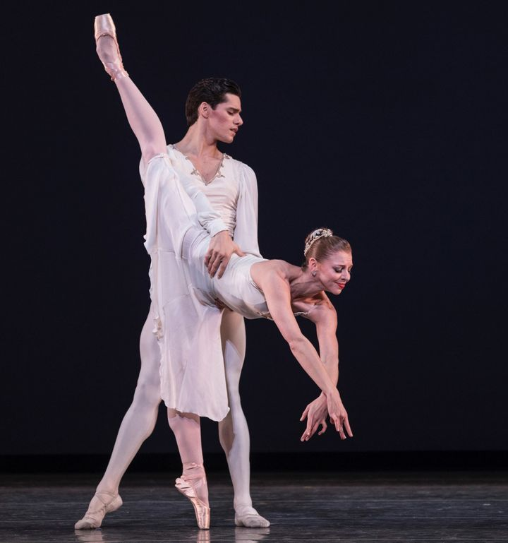 Lauren Fadeley performs in Miami City Ballet's production of George Balanchine's 'Walpurgisnacht Ballet.'