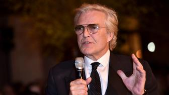 NEW YORK, NY - MAY 04:  Peter Martins speaks during the New York City Ballet 2017 Spring Gala at David H. Koch Theater, Lincoln Center on May 4, 2017 in New York City.  (Photo by Jared Siskin/Patrick McMullan via Getty Images)