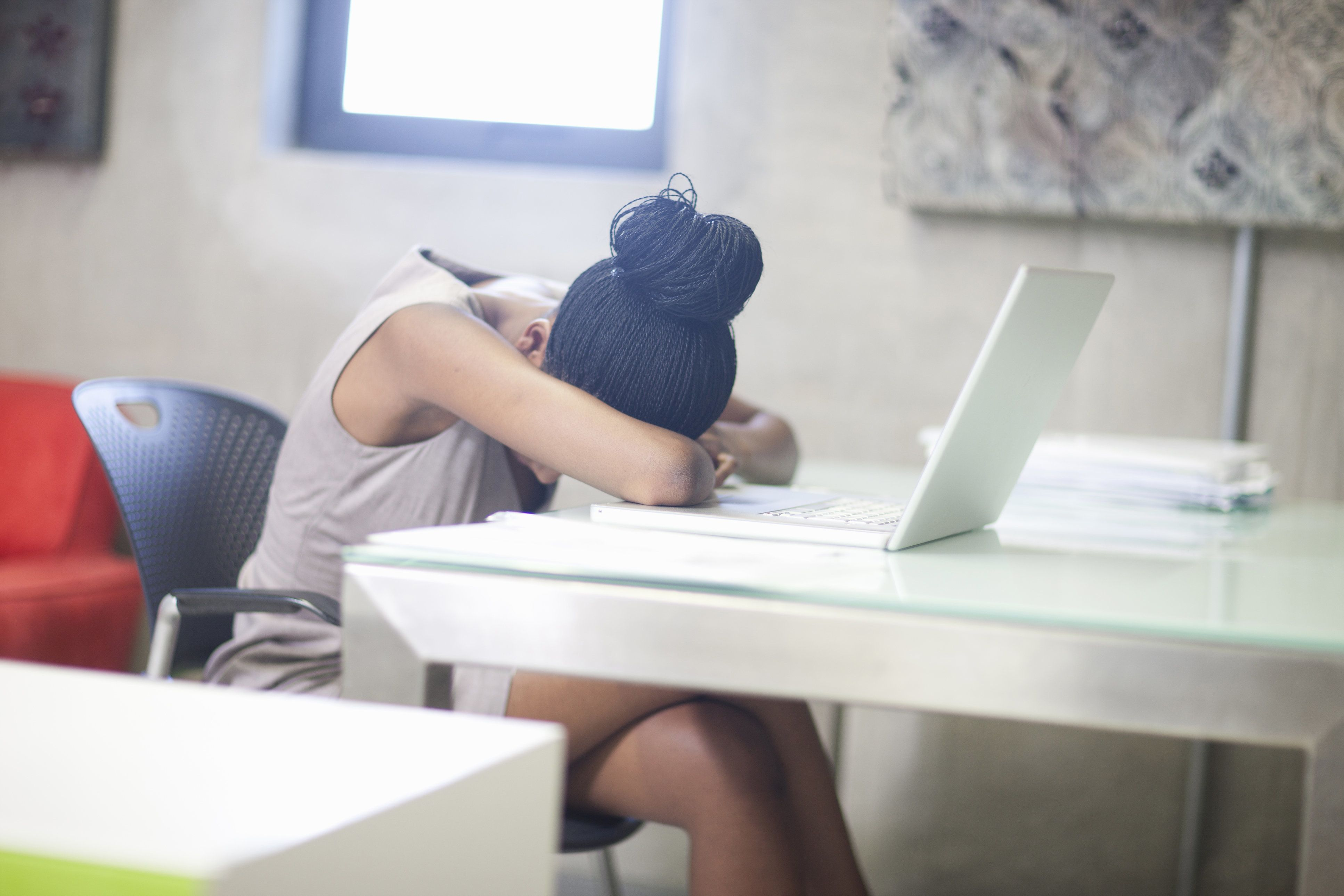 Crying At Work Happens. Here's How To Handle It, According To