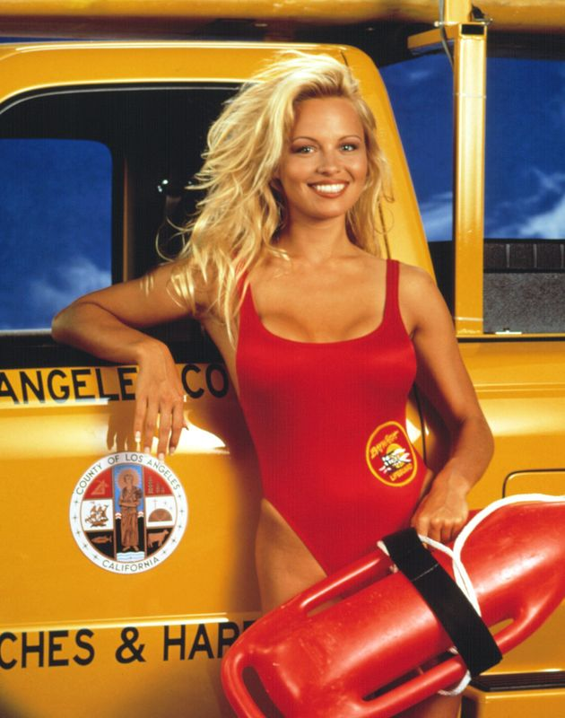 Pamela and that iconic 'Baywatch'