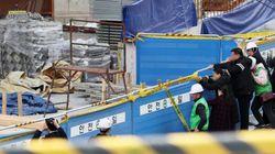 노동자 4명 사망한 엘시티 추락 사고, 또 '안전 점검'