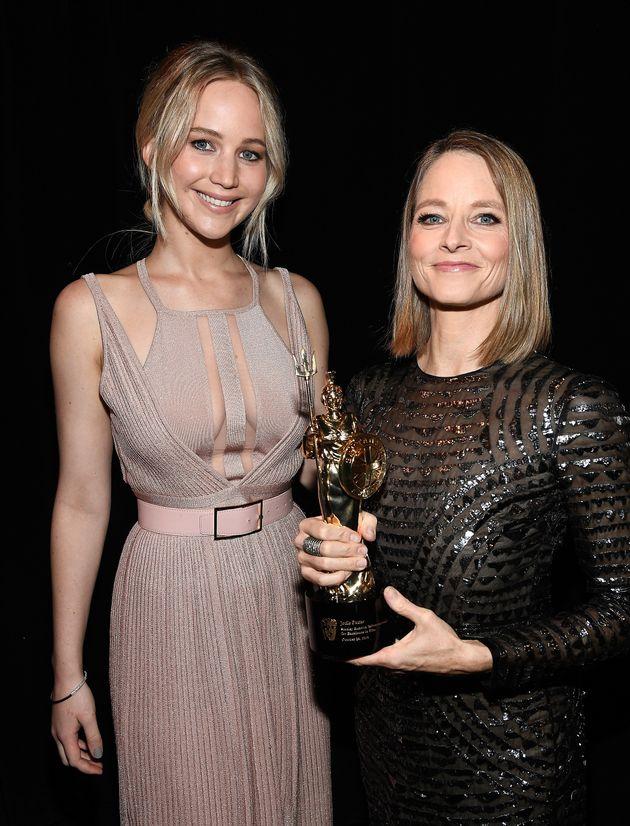 Jennifer Lawrence and Jodie