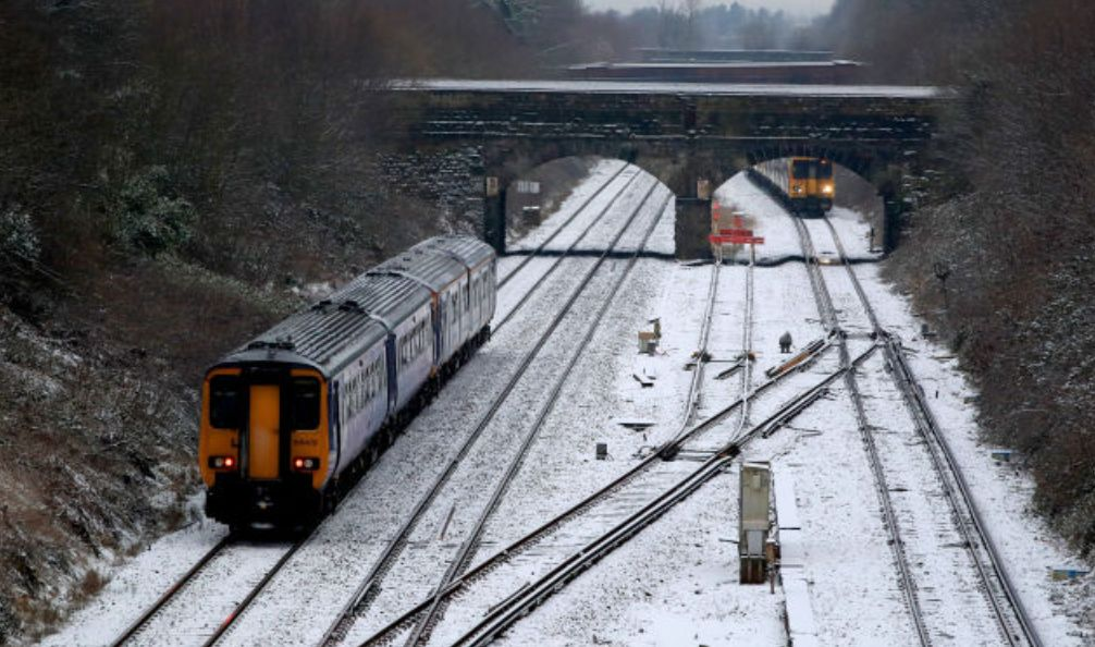 The British Transport Police has warned frustrated commuters not to try and exit stranded trains