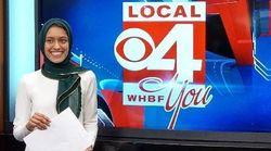 Tahera Rahman acaba de se tornar a 1ª repórter de televisão norte-americana a usar