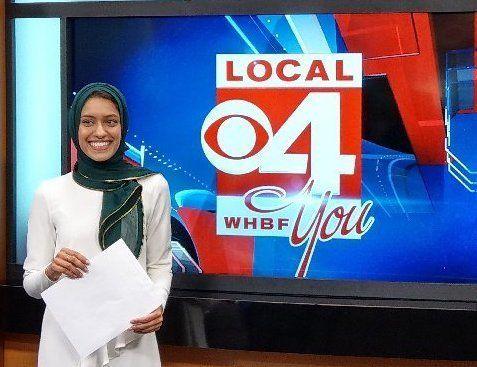 Tahera Rahman acaba de se tornar a primeira repórter de televisão americana a usar