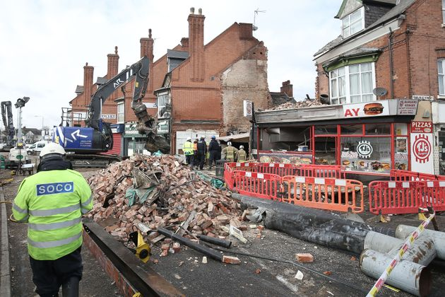 Five people died after the explosion on Hinkley Road last Sunday