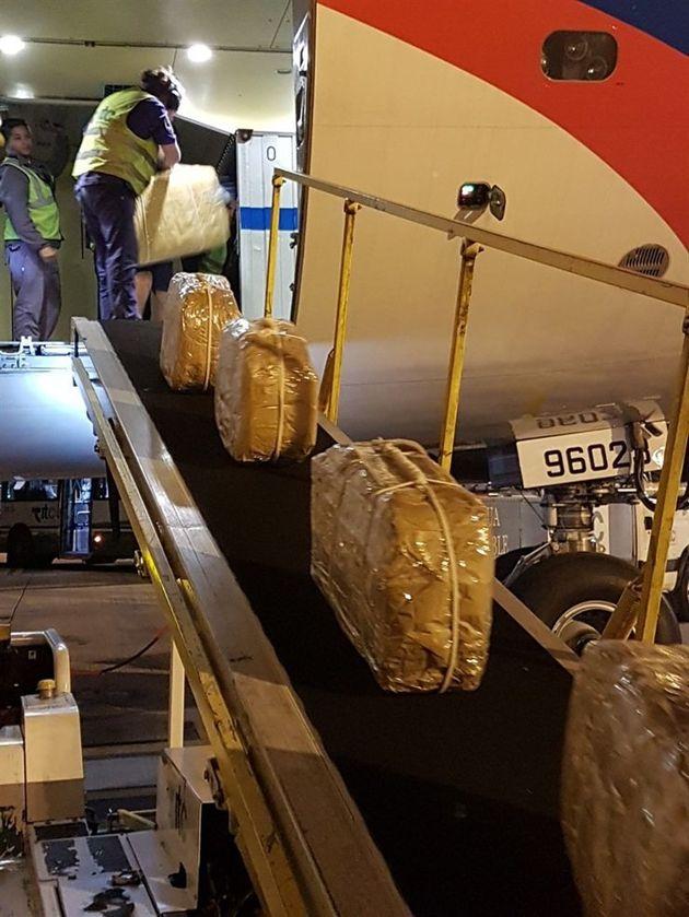 Das Flugzeug verließ Buenos Aires am 9. Dezember mit den 12