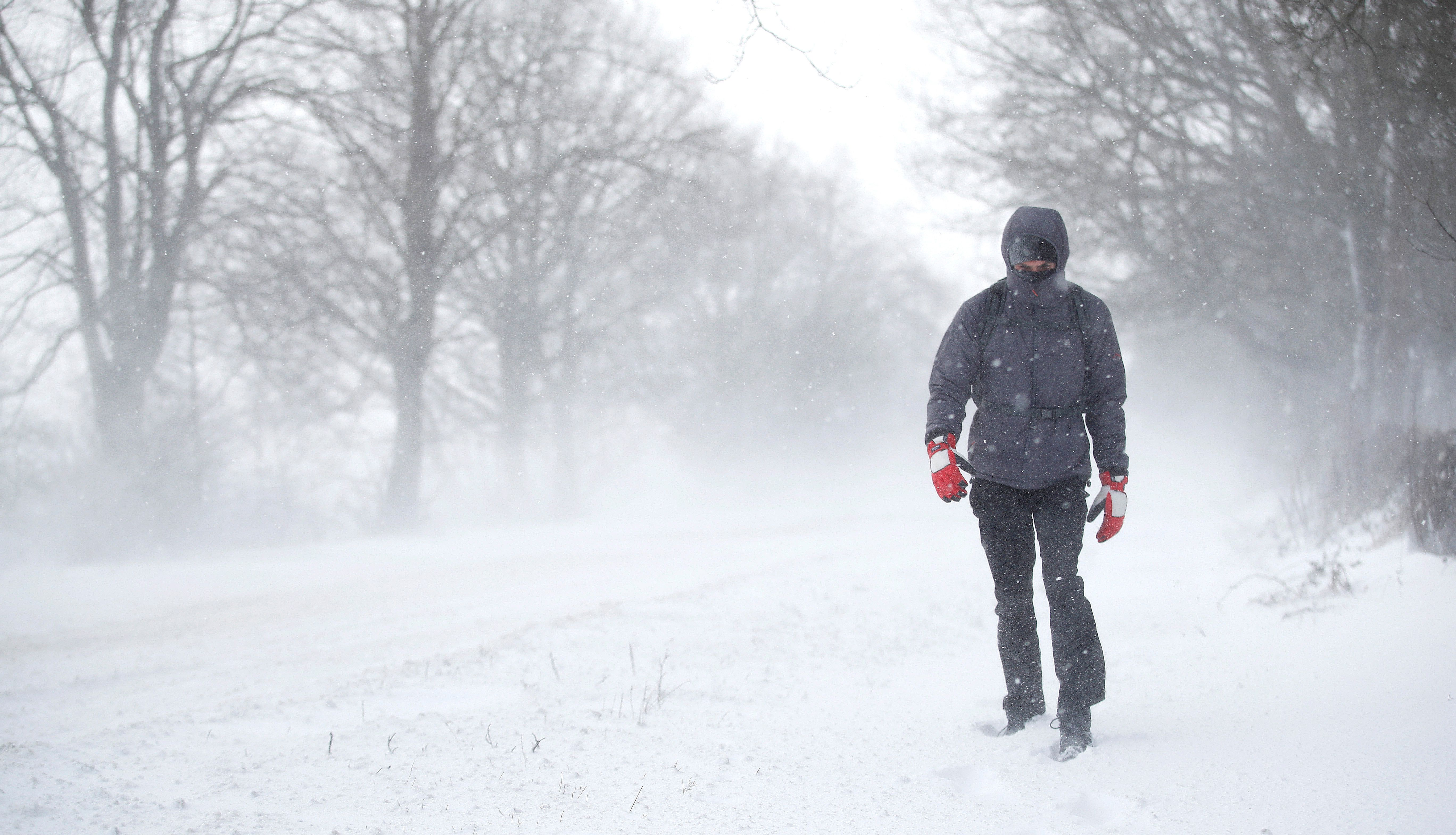 End To Widespread Freezing Conditions With Temperatures To Return To Normal On