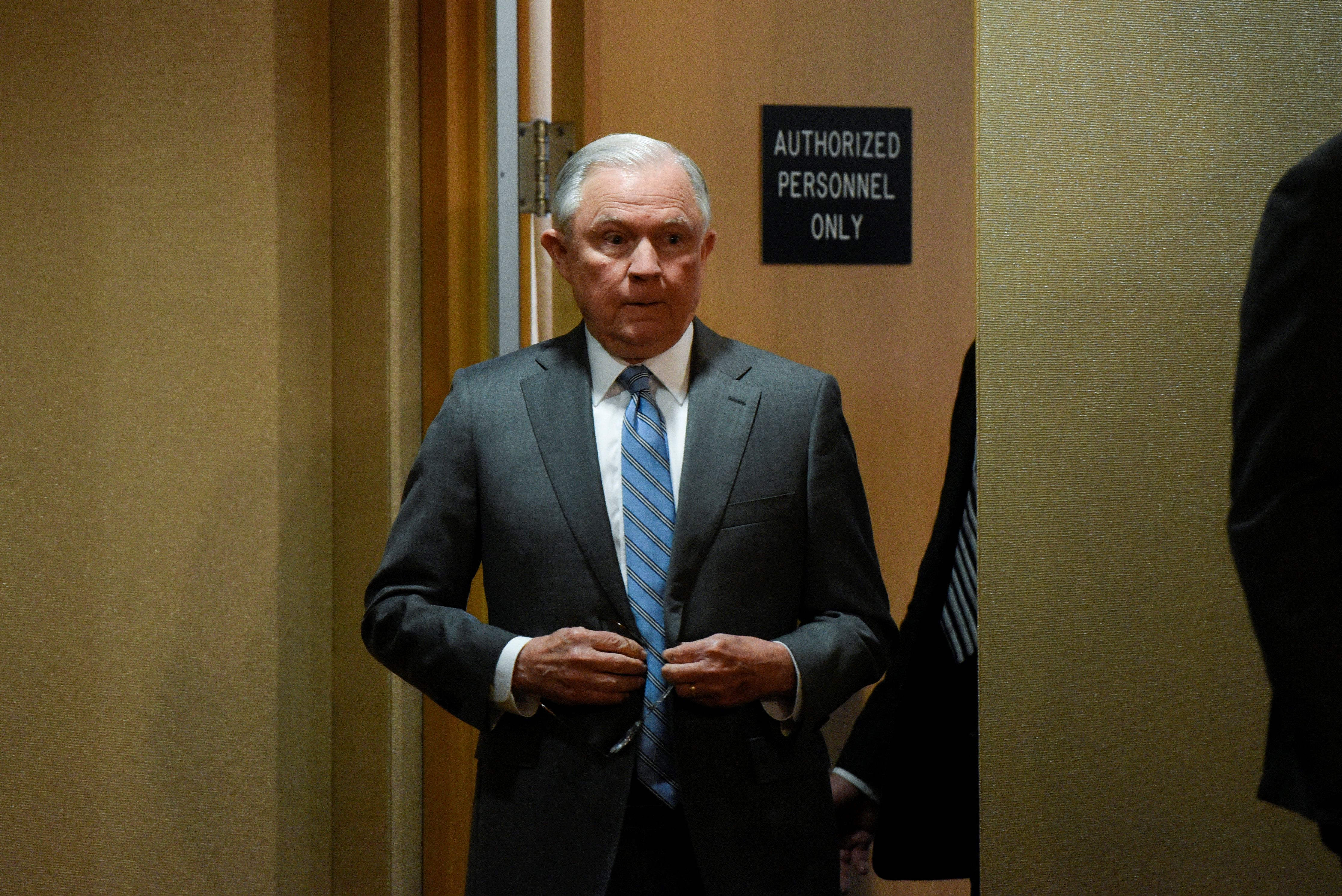 Under Attorney General Jeff Sessions, the Justice Department sought an immediate Supreme Court decision on whether the admini