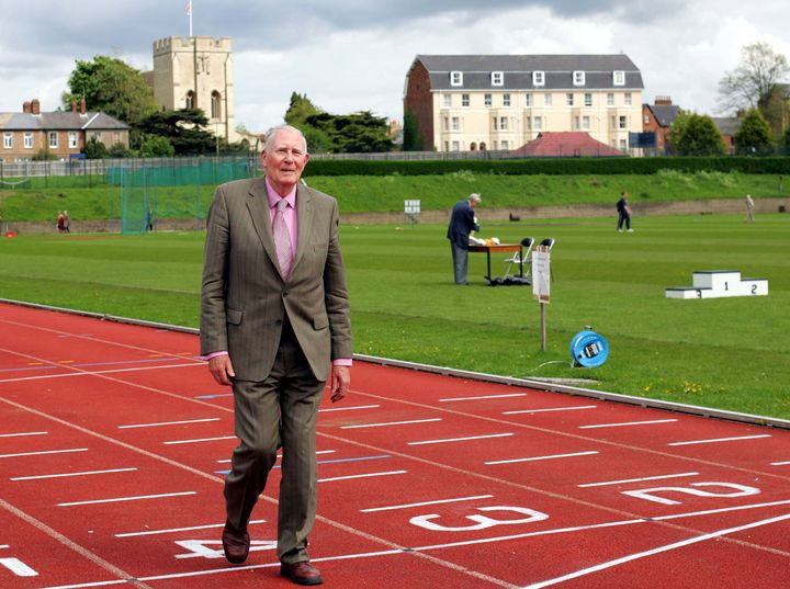ir Roger was a 25-year-old Oxford University medical student when he recorded a time of 3mins 59.4 secs for the mile on May 6