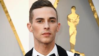 HOLLYWOOD, CA - MARCH 04:  Olympic medalist Adam Rippon attends the 90th Annual Academy Awards at Hollywood & Highland Center on March 4, 2018 in Hollywood, California.  (Photo by Frazer Harrison/Getty Images)