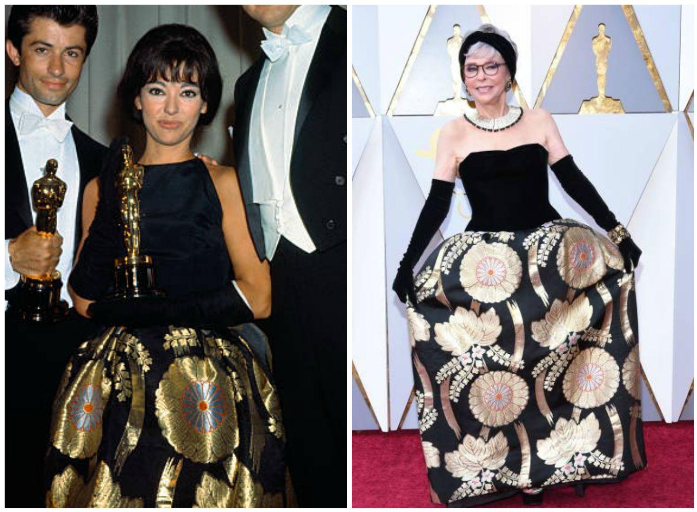 Rita Moreno Wore Her Same Oscar Dress From